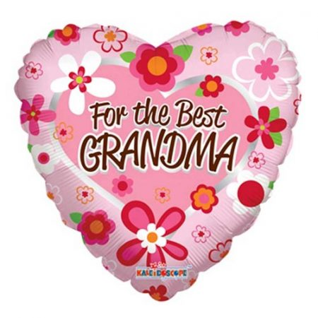 18 inch Balloon For The Best Grandma