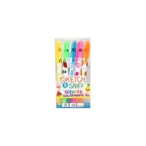Scented Gel Crayons x 5
