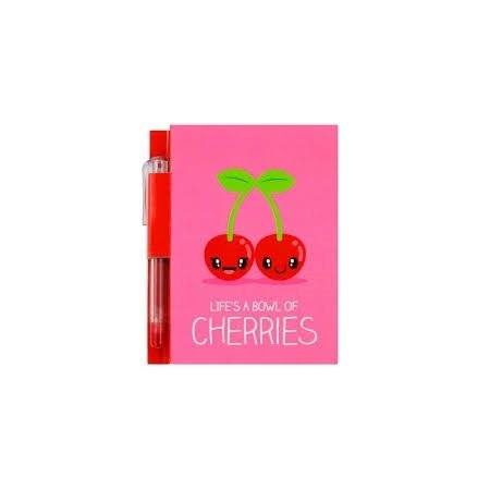 Sketch & Sniff A7 Scented Notepad with Glitter Gel Pen