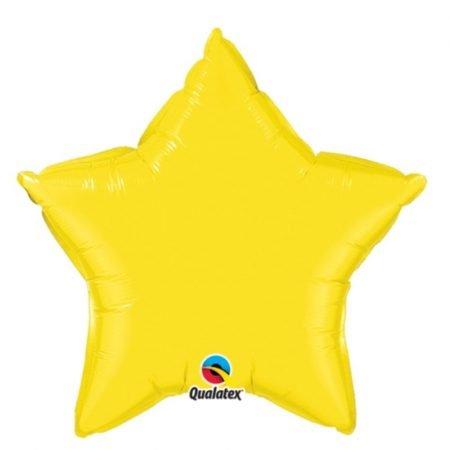 18 inch Star Balloon - Yellow