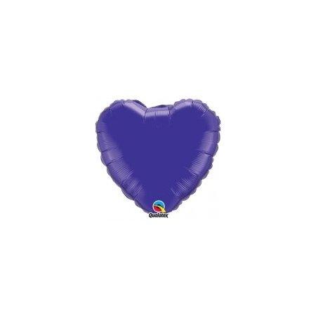 18 inch Heart Balloon - Quartz Purple