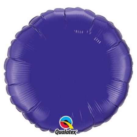 18 inch Round Balloon - Quartz Purple