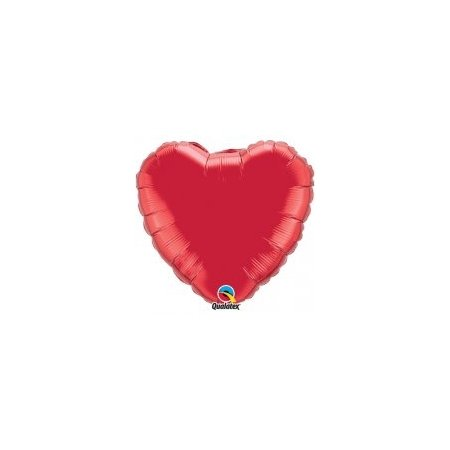 18 inch Heart Balloon - Ruby Red