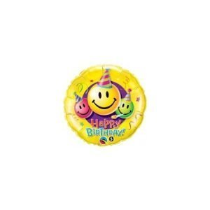 18 inch Happy Birthday Balloon Emojis
