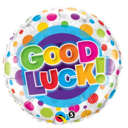 18 inch Good Luck - Bright Spots Balloon