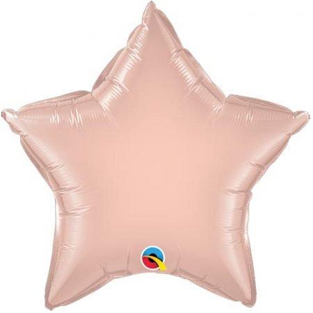 18 inch Star Balloon - Rose Gold