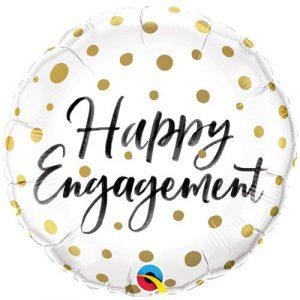 Engagement helium balloon
