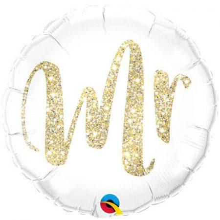 18 inch Wedding Day Balloon - Mr