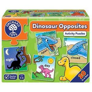 Orchard Toys Dinosaur Opposites Activity Puzzle