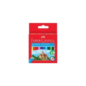 Faber Castell Half-Size Colouring Pencils x 12