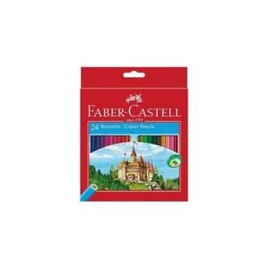 Faber Castell Basic Colouring Pencils x 24