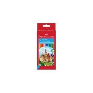 Faber Castell Basic Colouring Pencils x 12