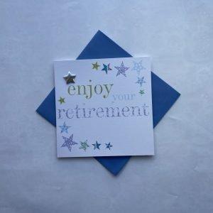 Enjoy Your Retirement Blue Card