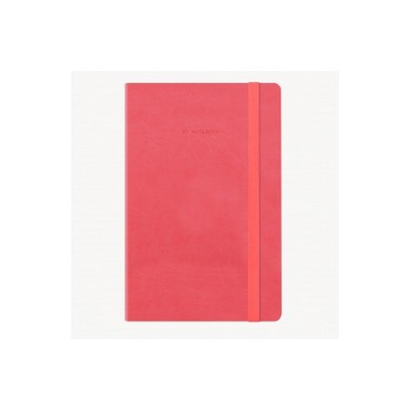 Legami My Notebook Dotted Notebook - Neon Coral