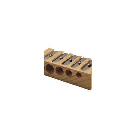 Legami 5 Hole Wooden Pencil Sharpener