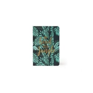 Legami Small Lined Notebook - My Head Is A Jungle