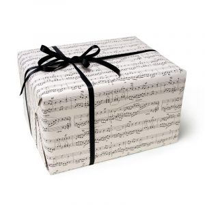 Legami Wrapping paper 2m x 70cm - Music