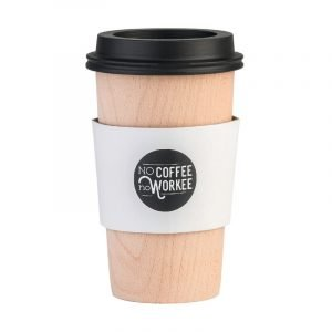 Legami Wooden Coffee Cup Pen Holder