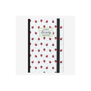 Legami Small Lined Notebook - Be Lucky (Ladybirds)