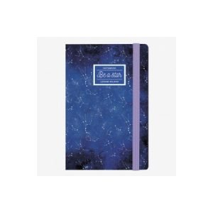 Legami Small Lined Notebook - Be A Star