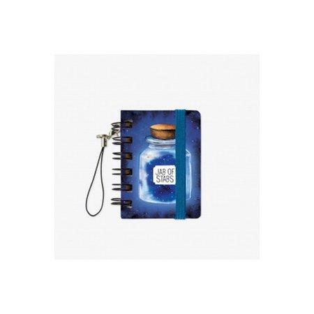 Legami Micro Wirebound Notebook - Jar of Stars