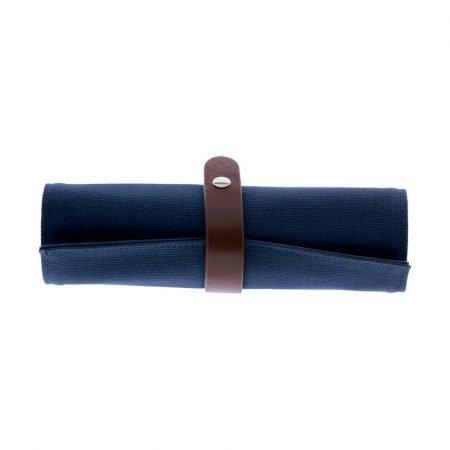 Legami Roll-Up Pencil Case - Blue