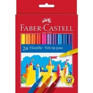 Faber Castell Felt Tip Pens x 24