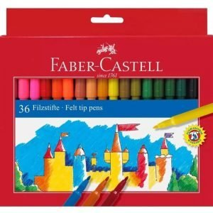 Faber Castell Felt Tip Pens x 36