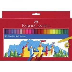 Faber Castell Felt Tip Pens x 50