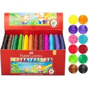 Faber Castell Chublets Wax Crayons x 96