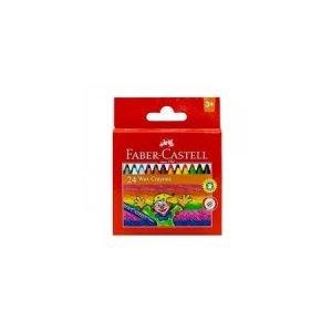Faber Castell Wax Crayons x 24