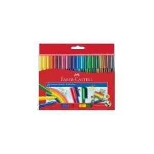 Faber Castell Connector Fibre Tip Pens x 20