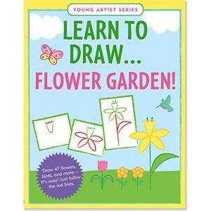 Learn To Draw - Flower Garden