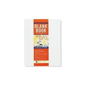 Peter Pauper White Hardbacked Blank Book - 28 Pages