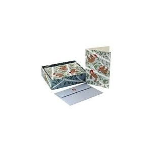 Box of 20 Christmas Cards - Merry Sloths