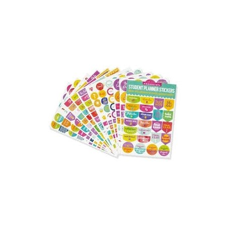 Student Planner Stickers x 575