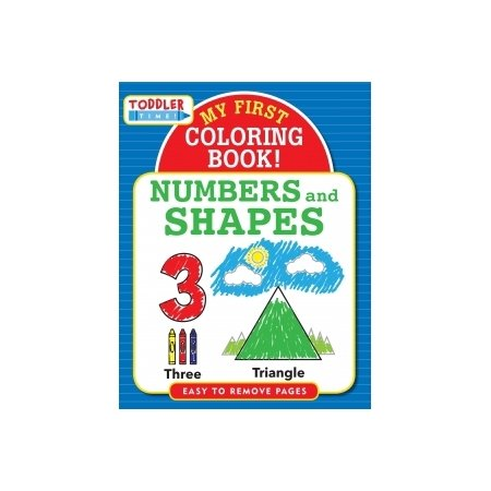 My First Colouring Book - Numbers And Shapes