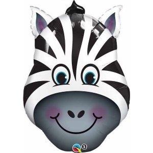 32 inch Zebra Supershape Balloon