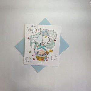 Rachel Ellen A New Baby Boy How Wonderful Card