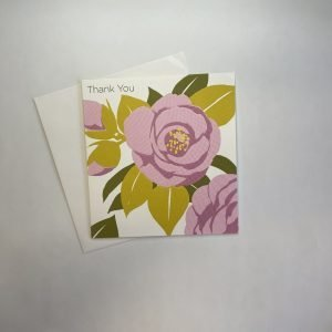 Thank You Pink Flower Card