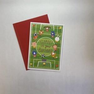 Rachel Ellen Yippee It's Your Birthday Football Field Card