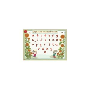 Educational Learning Mat A4 Lower Case - Left Handed