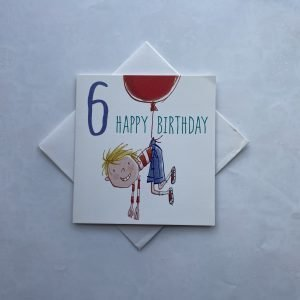6 Happy Birthday Boy Card