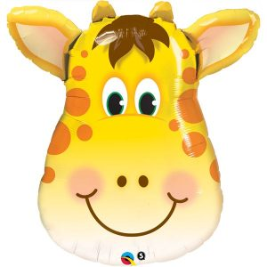 29 inch Giraffe Head Supershape Balloon