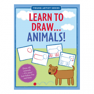 Young Artist Series Learn To Draw Animals Book