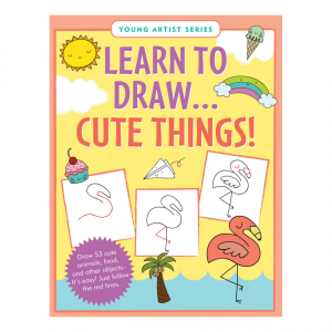 Young Artist Series Learn To Draw Cute Things Book