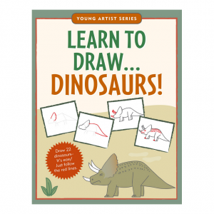 Young Artist Series Learn To Draw Dinosaurs Book