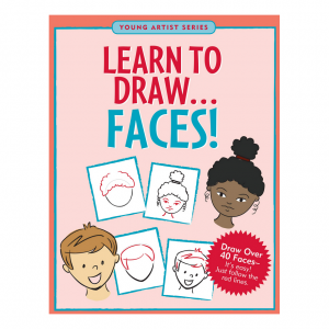 Young Artist Series Learn To Draw Faces Book