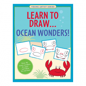 Young Artist Series Learn To Draw Ocean Wonders Book