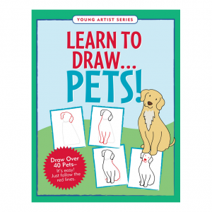Young Artist Series Learn To Draw Pets Book
